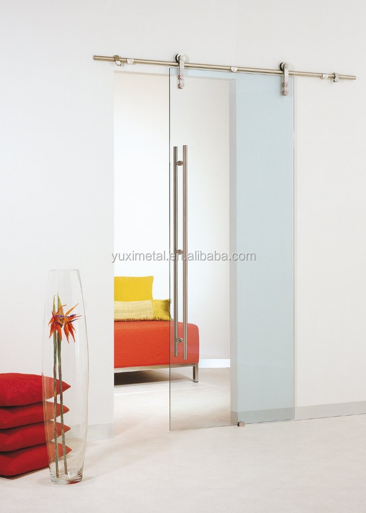 high quality interior modern single shower sliding glass door
