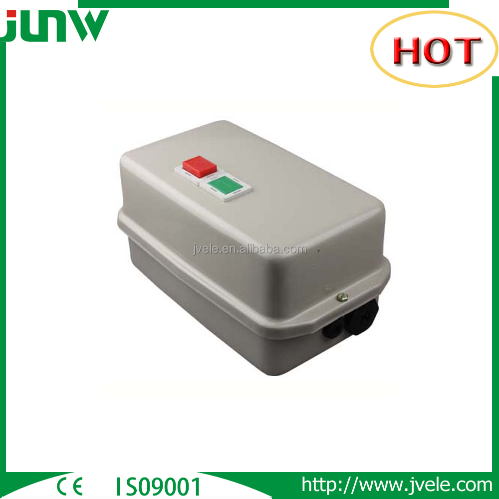 China manufacture 220v 3 pole 3 phase magnetic starter switch price list