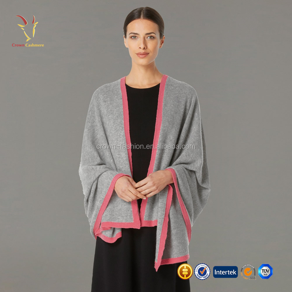 Factory Direct Merino Wool Sweater Shawl Wrap