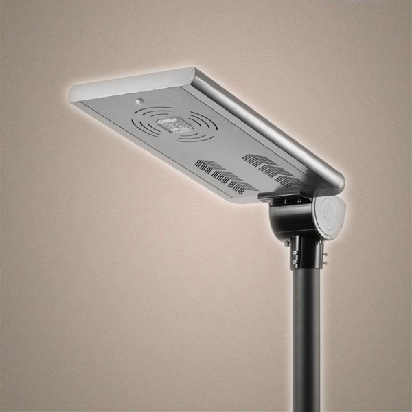 mono panel all in one led solar street light with two IP68 LED modules