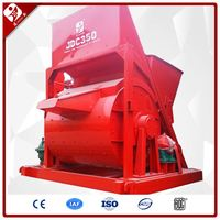 High Efficiency Portable One Axis Single Horizontal Shaft Dry Powder Mixed Mortar Drum Cement Concrete Mixer