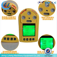 Portable handheld Multi (O2,EXP,CO,H2S )gas detector 4 gases detecting at the same time