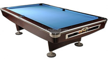MDF Cover Formica Slate Top Wood Billiard Table with full sets accessory