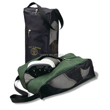 Mesh golf shoe bag,polyester custom shoe dust bag wholesale