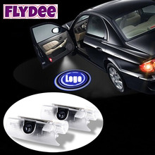 Automobile Wireless 5W 7W LED Car Door Logo Laser Projector Ghost Shadow Light for Toyota