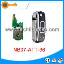 Origin quality NB07-ATT-36 for Peugeot Citroen,old Honda and some other brand cars remote key