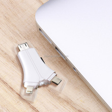 SD/TF card reader Type C USB 2.0 Memory Mobile Universal Micro USB OTG Card Reader with High Reading Speed for Phone & PC