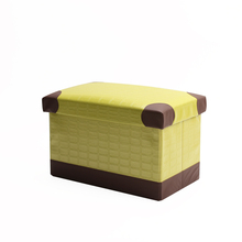 Mise Foldable Home <strong>Furniture</strong> Changing Shoes Stool Chairs Organizer Toy Storage Box