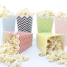 Paypal Accepted 100% Satisfaction Guarantee Handmade Full Color Popcorn Paper Box