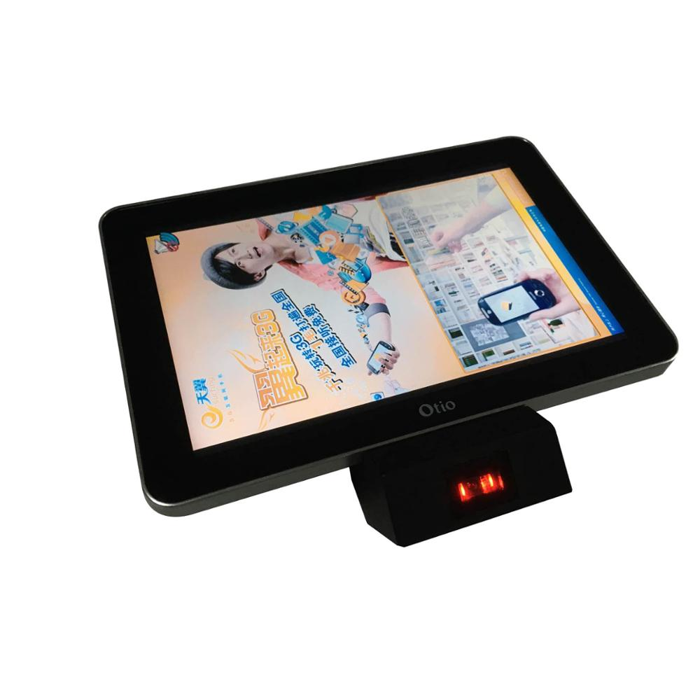 Refee 10.1 inch barcode scanner LCD ad screen display digital signage