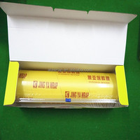 fresh food cling wrap/waterproof pvc plastic wrap/stretch fruit film