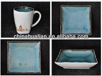 2014 new design ceramic dinner set/ Factory directly supply 16 pcs porcelain tableware/ excellect quality ceramic dinnerware