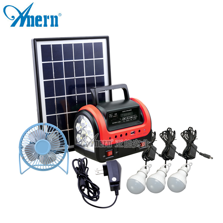 2018 mini portable <strong>solar</strong> charging lighting system kit