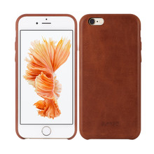 Luxury genuine leather case for iphone 6 case,for real iPhone 6 case