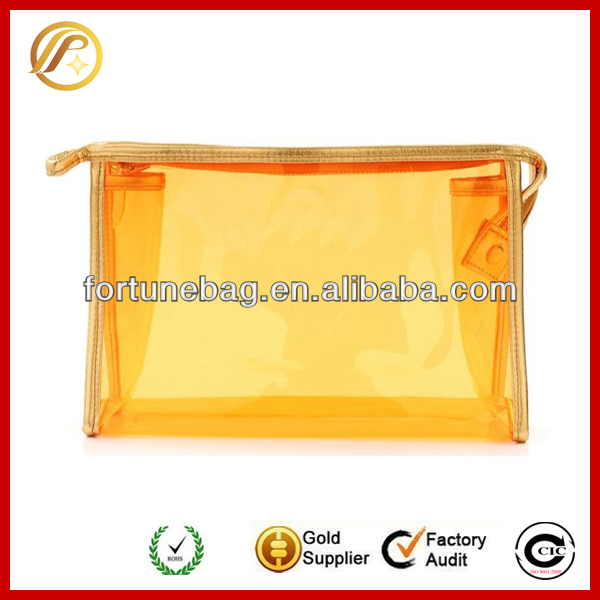 Colorful cheap clear pvc purse