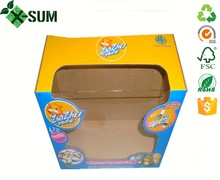 Paper Box Unique Shape Paper Package For Retail Products Commodity