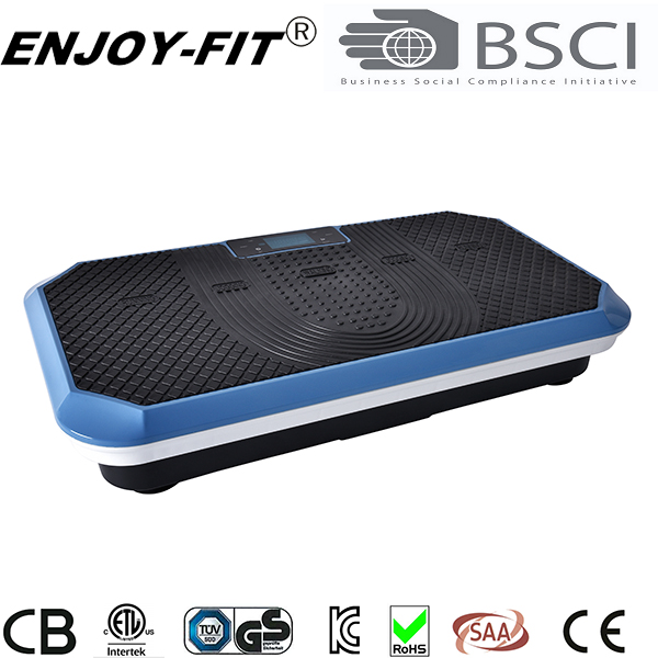 2017 NEW DESGIN TWO MOTOR VIBRATION PLATE CRAZY FIT MASSAGE OSCILLATION AND SPIRAL VIBRATION PLATE