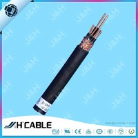 China Manucfacturer Flexible Control Cable With PVC Sheathed Braided Copper Wire