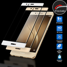 Chinese Factory Wholesale Tempered Glass Screen Protector Oleophobic Coating Screen Cover Custom Retail for Huawei P9 plus