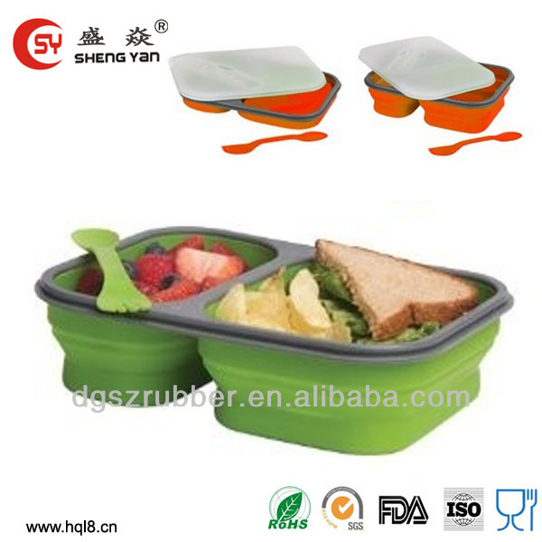Microwave oven safe car heated lunch box