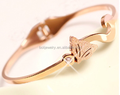 Charming Rose Gold Plated Fashion Bracelets 2014