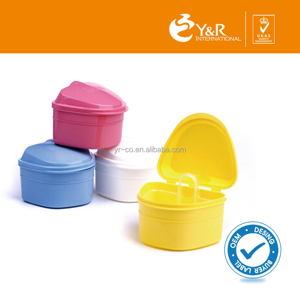 Tooth Retainer Plastic Box/Denture Bath Box-DBB001