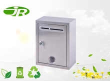 stainless steel mail box square mailbox with lock