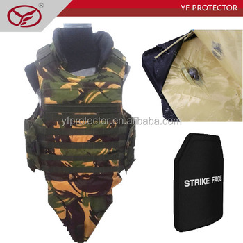 security equipment full body armor bulletproof vest level IV