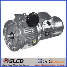 variator reducer for electric portable concrete mixer