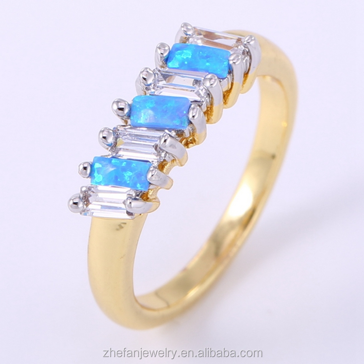 fashion engagement rings for indian couple wholesale ring with double plating