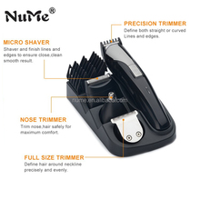 Hot Rechargeable Body Wash Cordless Electric Hair Clipper and Beard Trimmer Man Grooming Set NM-5000