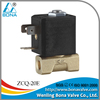 "1/8"" Brass Steam Hot Water Coffee Vending Machine 110V 230V Solenoid Valve ZCQ-20E"