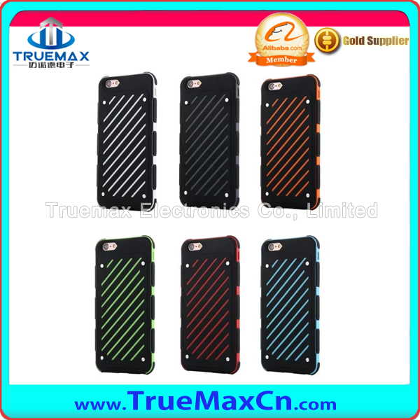 Custom Mobile Phone Case For iPhone 6 PC+TPU Case