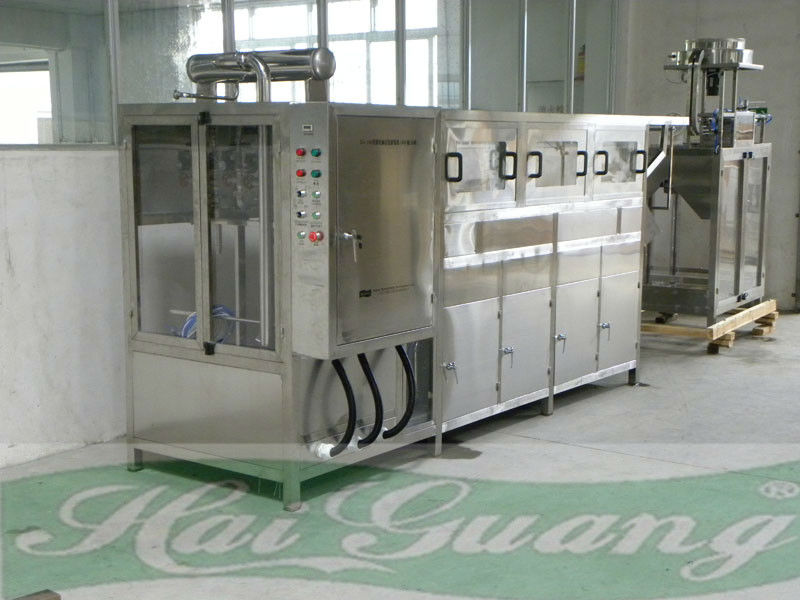 Low cost simple structure Full Automatic 20L Bottled Water Filling Machine/Equipment/System/Plant