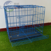 Large indoor display foldable pet cage