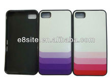 For BlackBerry Z10 BB10 Cool Colorful TPU+PC Hybrid Case