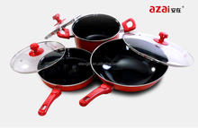 Manufacturing Sales Daily Cooking Multifunction 3pcs cooking pot/personalized kitchen utensils large capacity cooking pot
