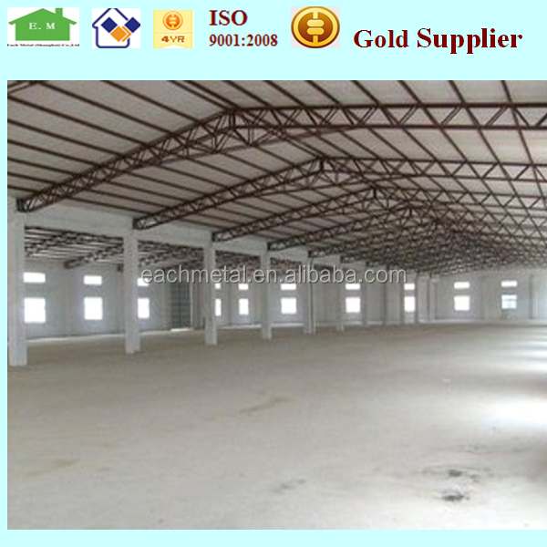 New design modular ware house design steel structures by China supplier