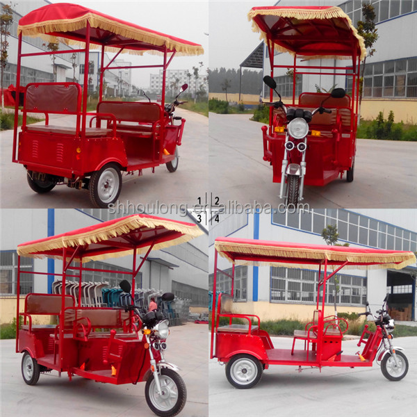 ROMAI manufacturer of electric motor cycle/ pedicab rickshaw tricycle with CE