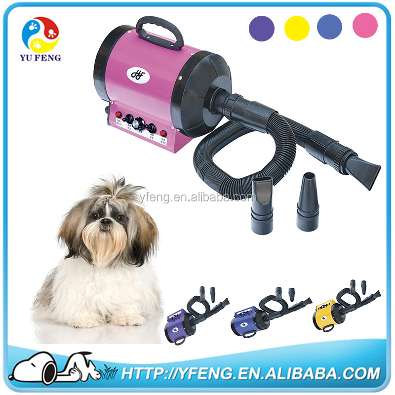 2800W 110V/220V Pet Grooming Dryer Dog Cat Hair Dryer 2-SPEED 4 colors pet dryer machine