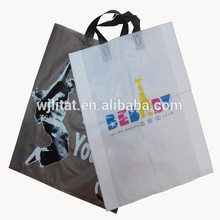 Multifunctional plush folding shopping bag for wholesales