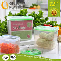 GL9011-S-B safe food storage transparent plastic crisper