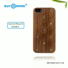 Luxury for iPhone 5 Wooden Case Cover, wood case for iphone 5