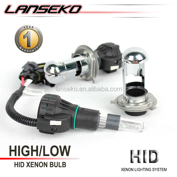 High quality bule hid headlight kits h7 auto xenon bulbs 35/55w