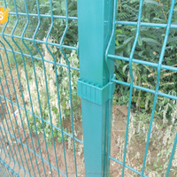 PVC Coated 3D Fence Panel For