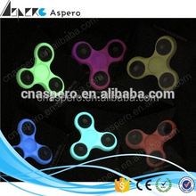 Top selling Glowing type light hand spinner fidget spinner with high quality