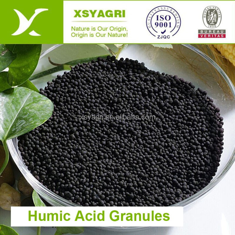 50% Humic Acid granule from leonardite with rich nutural nutrients for soil conditioner