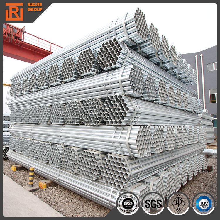 China Electrical Resistance Welded Galvanized Water Pipe / Galvanized Iron Pipe GB/T3091-2008
