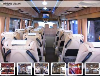 motor coach interior decoration