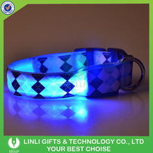Promotion Colorful LED Light Up Safety Flashing High-End Dog Harness